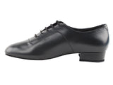 Competitive Dancer Series Black Leather Ballroom Shoe
