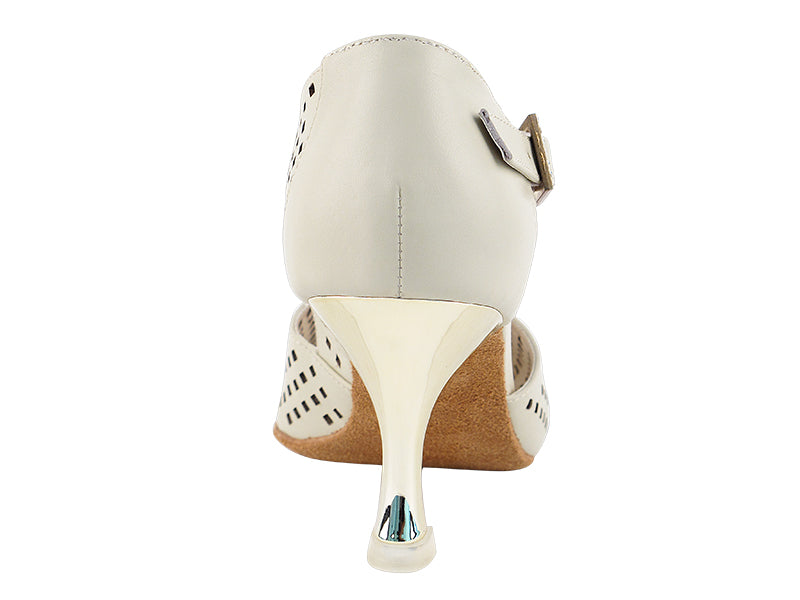 Competitive Dancer Series- Tan Leather Dance Sandal