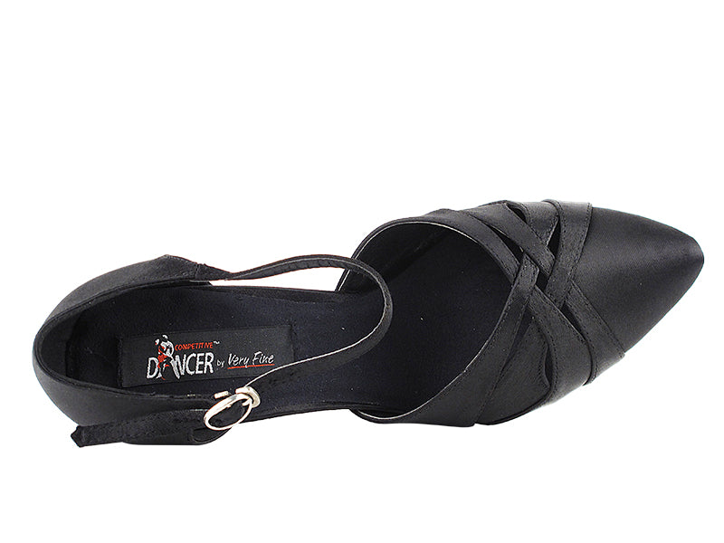 Competitive Dancer Series- Closed Toe Smooth/Standard Dance Shoe- Black
