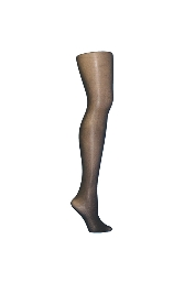 High Gloss Footed Nylons / Tights- Black