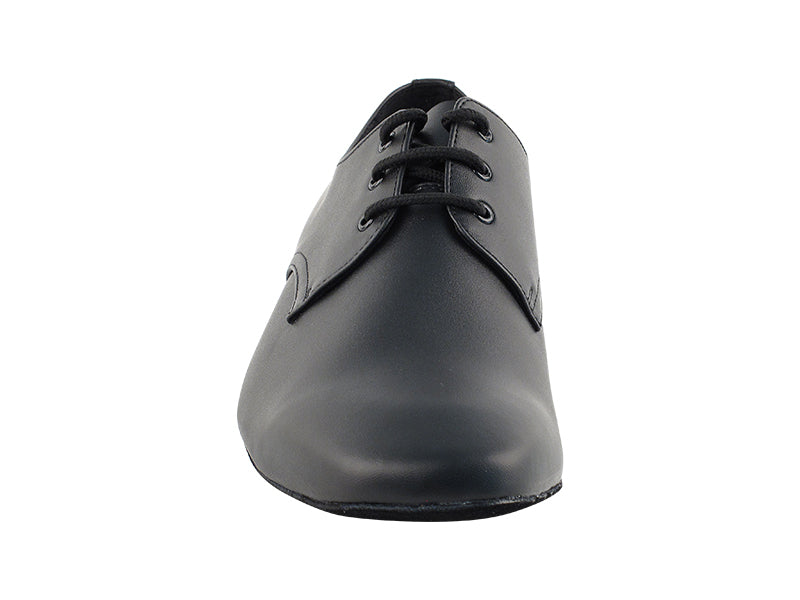 Signature Series Black Leather Dance Shoes