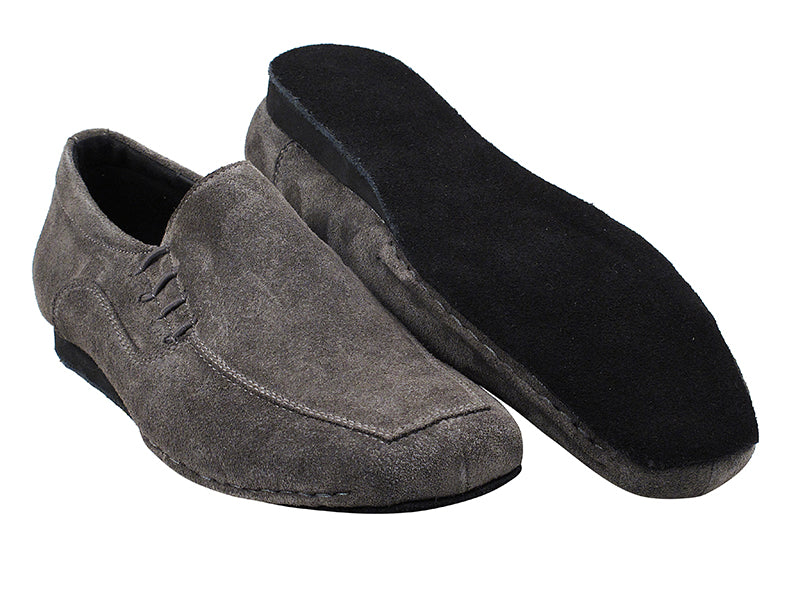 Sero Series Grey Suede Dance Shoes