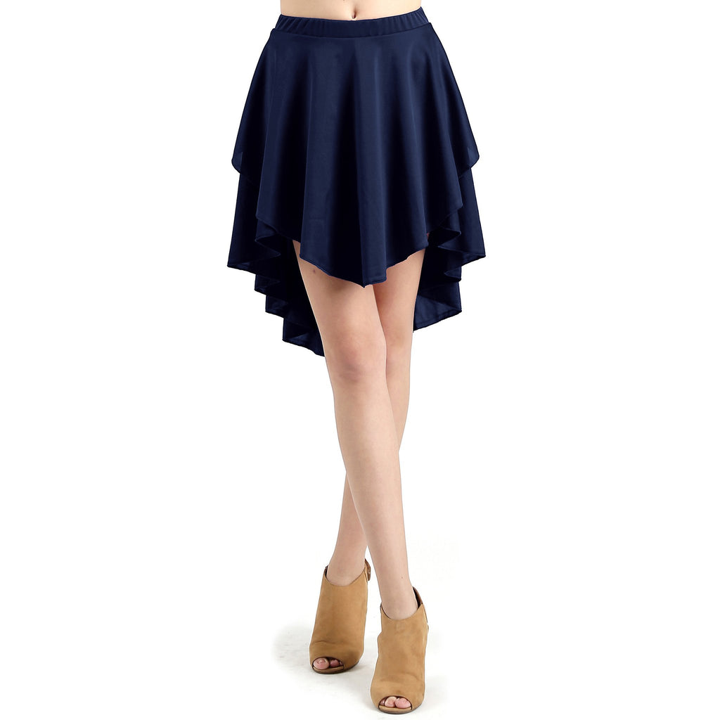 Asymmetrical Versatile Cocktail Turn Skirt- More Colors!