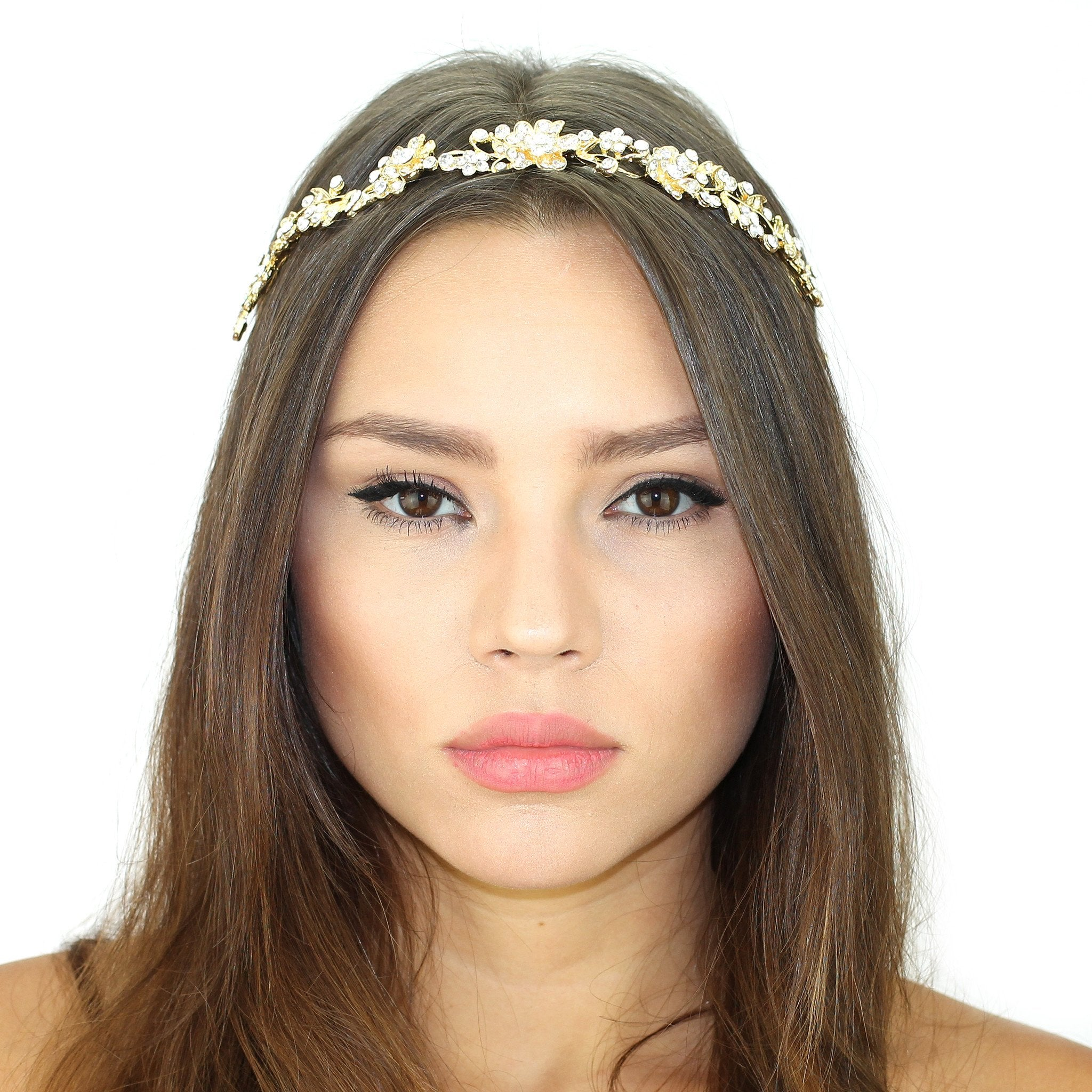 Crystal Vines Shimmer Headpiece