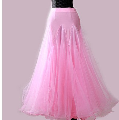Custom Size Ballroom Smooth, Standard, Flamenco Dance Skirt