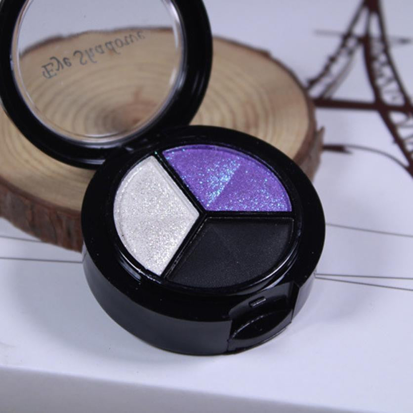 3 Colors Water-Resistant Eye Shadow