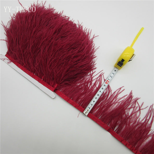 Beautiful Ostrich Feather Trim- More Colors!