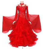 Ravishing Ruffles! Ballroom Dance Dress