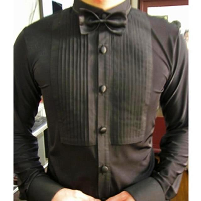 Tab Collar Smooth or Standard Dance Shirt