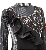 Ruffles and Rhinestones Ballroom Dance Dress