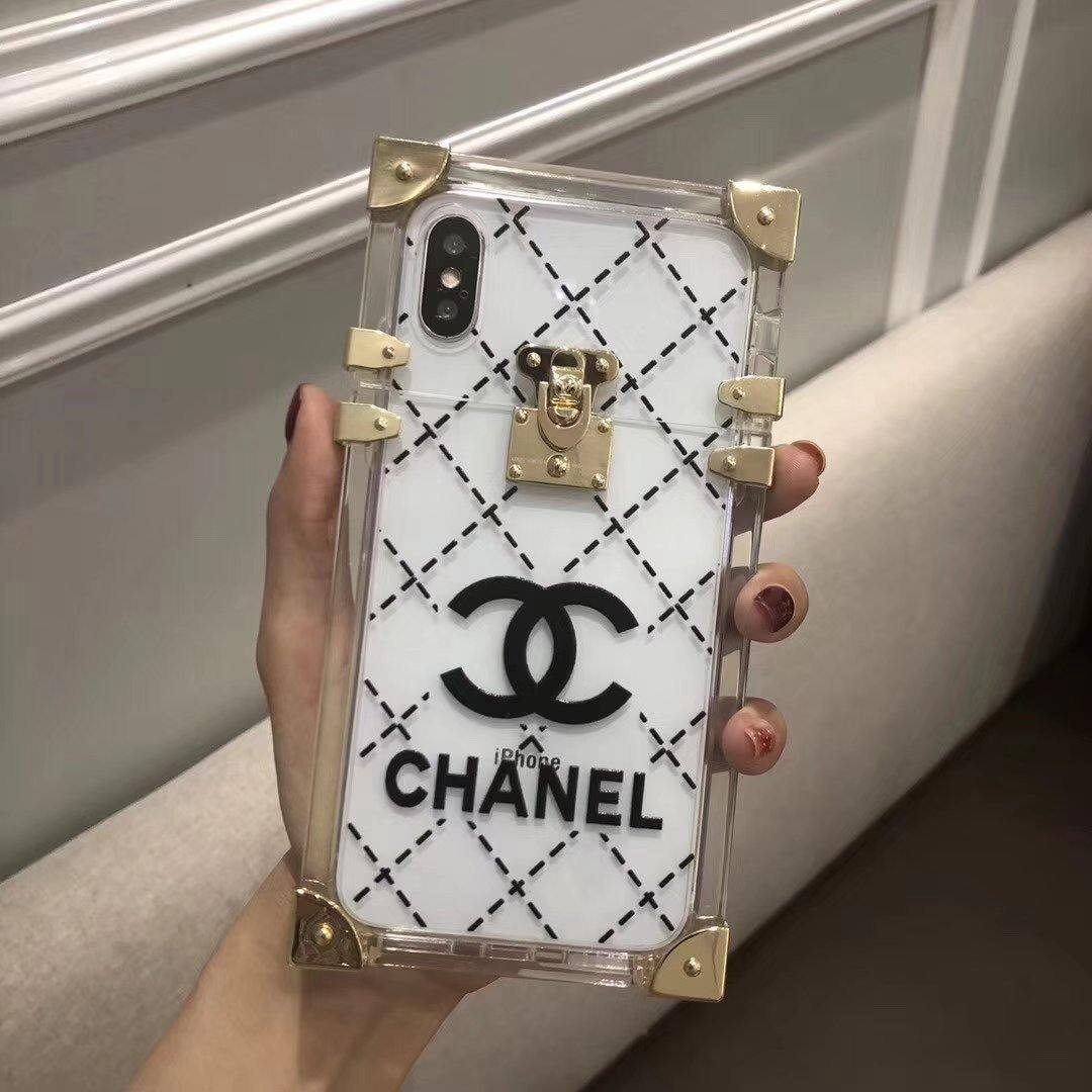 Chanel Transparent TPU Phone Case
