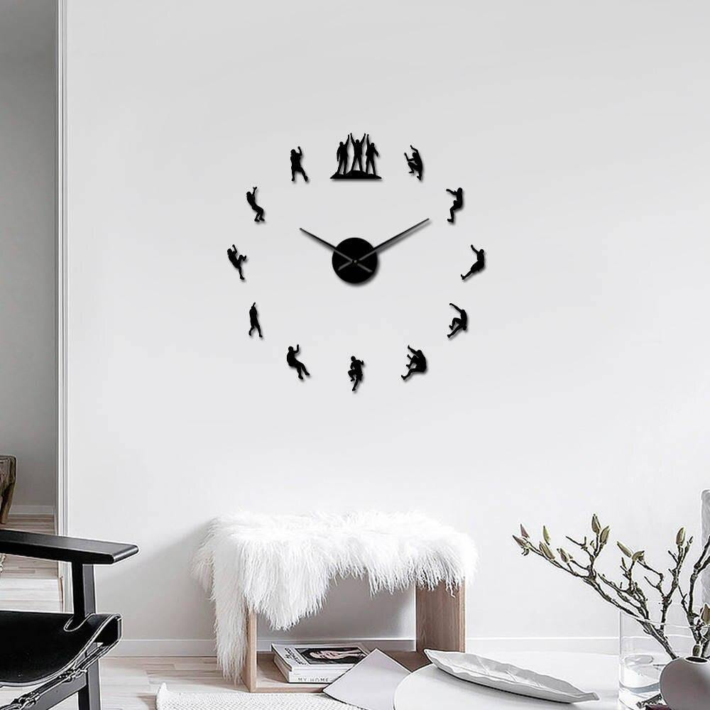 Funky Acrylic Wall Clock Seek Creation