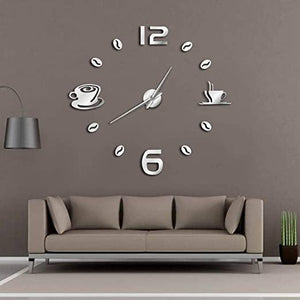 Geeky Days Cafe DIY Large Wall Clock Seek Creation