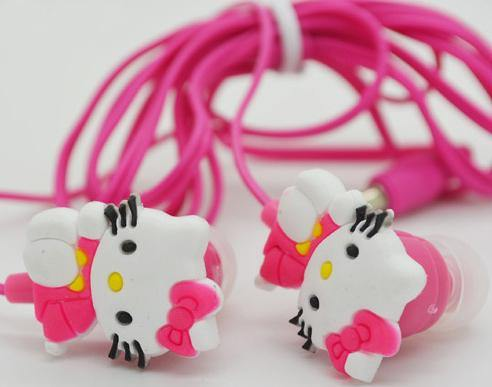 3D HELLO KITTY HANDSFREE - Seek Creation