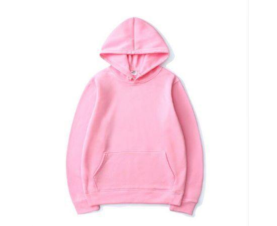 MEN'S WINTER AUTUMN HIGH-QUALITY PINK HOODIES SWEATER