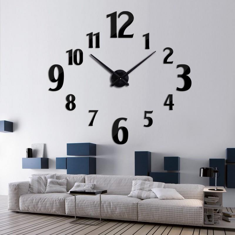 Home Decorate Wall Clock Seek Creation