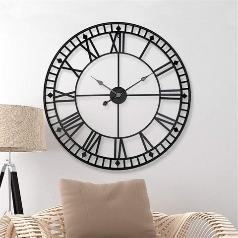 Home & Kitchen, Vintage Roman Wall Clock Seek Creation