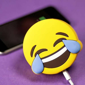 Lauging Emoji Power Bank - Seek Creation
