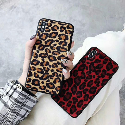 Leopard Veins Otter fur Phone Case - Seek Creation
