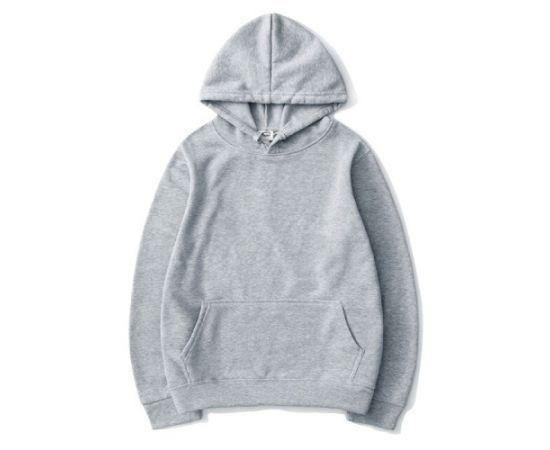 MEN'S WINTER AUTUMN HIGH-QUALITY GRAY HOODIES SWEATER