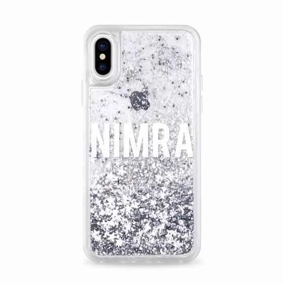 finest selection f605e dd37e Customized Liquid Glitter Case