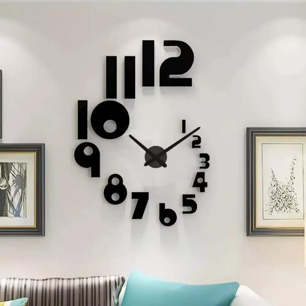 Peacock Wall Clock European Style Living Room