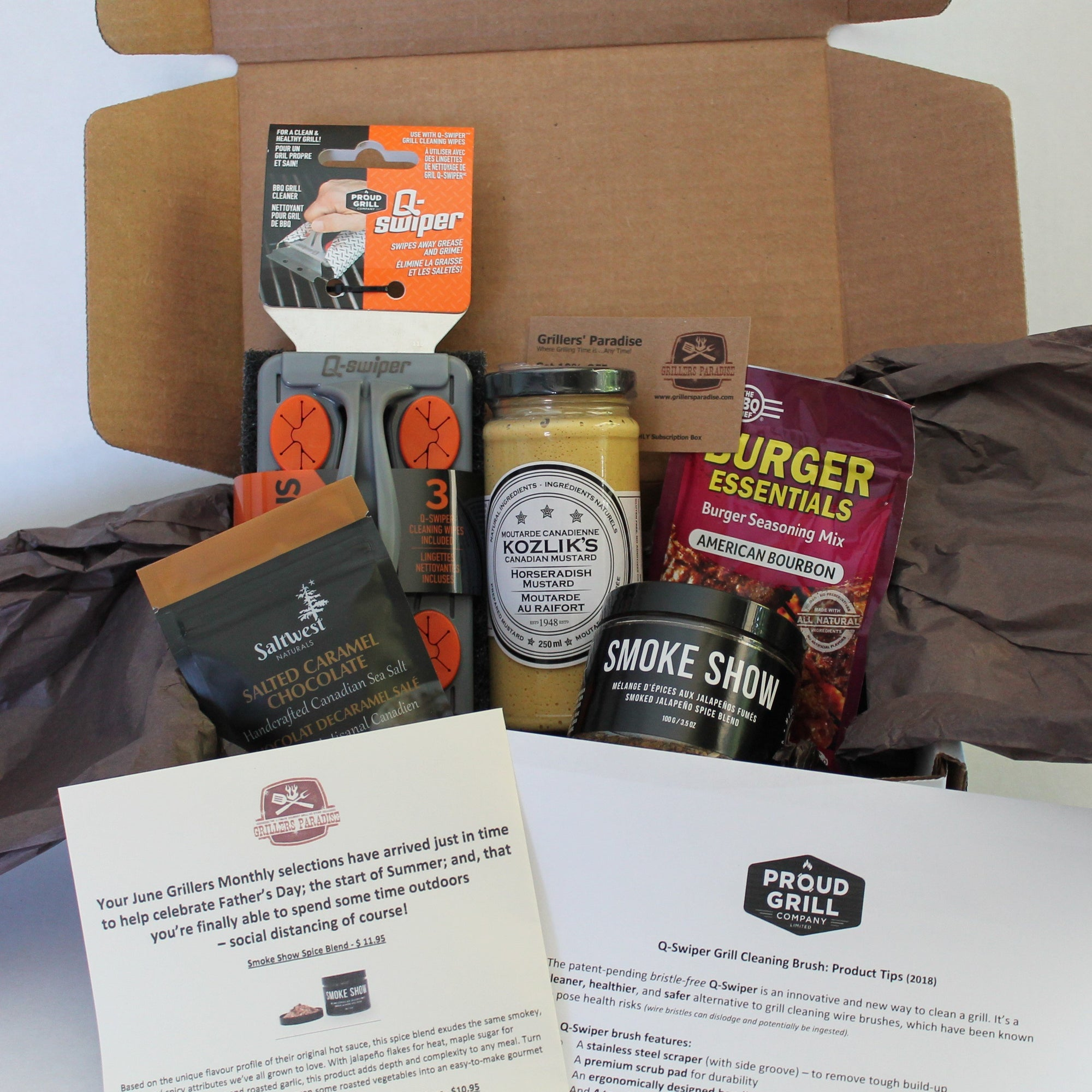 GRILLERS MONTHLY SUBSCRIPTION BOX