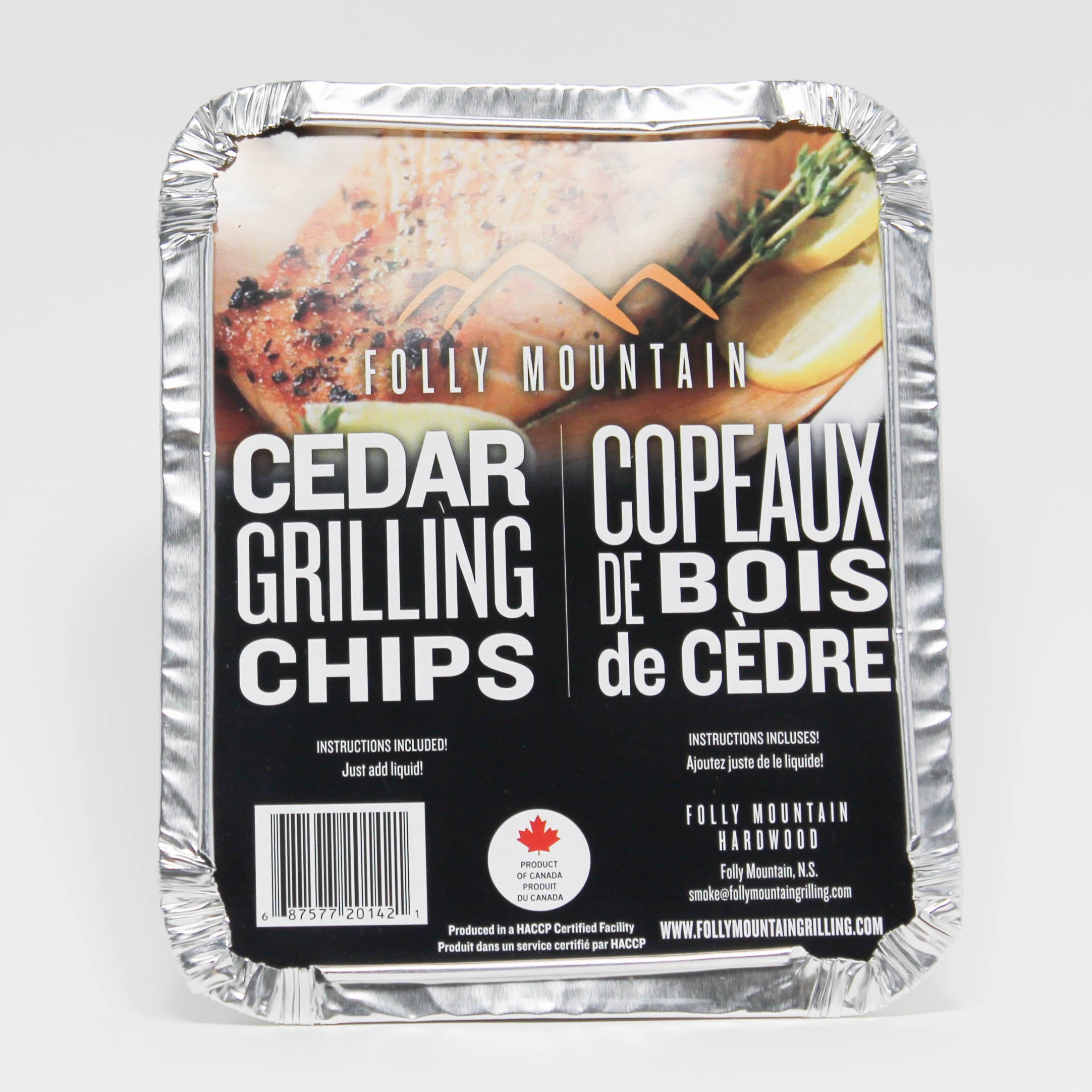 Cedar Grilling Chips - Folly Mountain Grilling