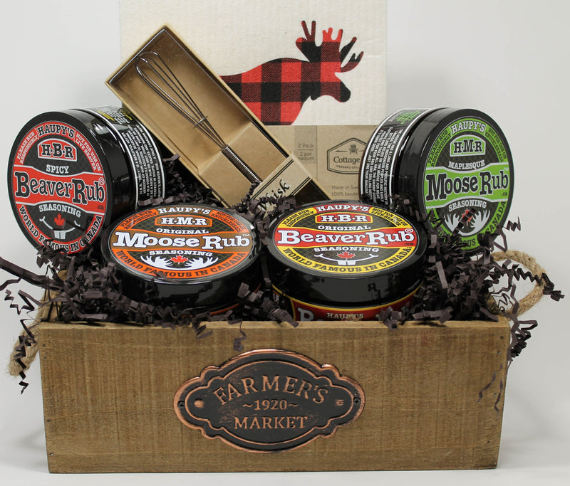 All Canadian Grill Rub Gift Basket