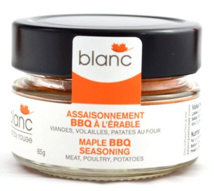 Blanc maple BBQ seasoning and rub