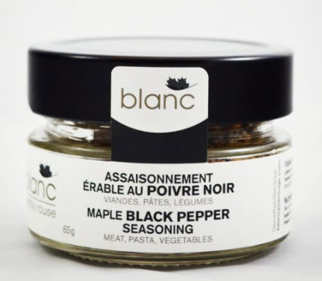Blanc - Maple Black Pepper Seasoning