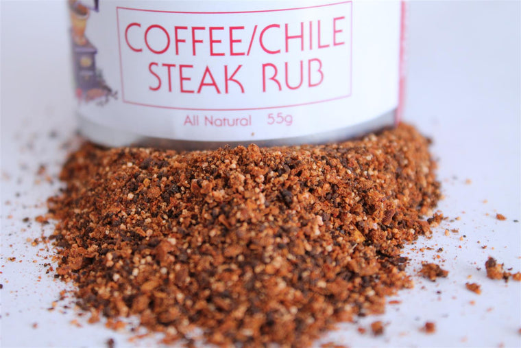 Coffee / Chile Steak Rub - The Epicentre 55g