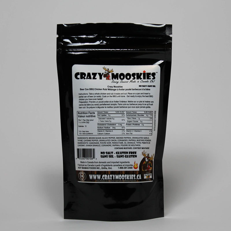 Crazy Mooskies Beer Can Chicken Rub