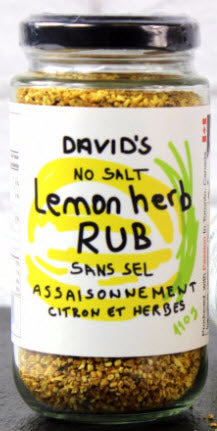 David's Lemon Herb Rub