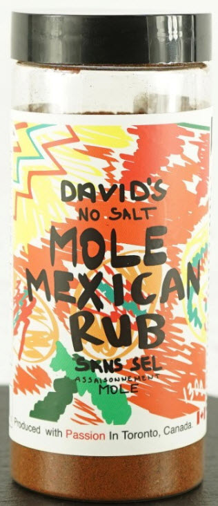 David's Mole Mexican Rub