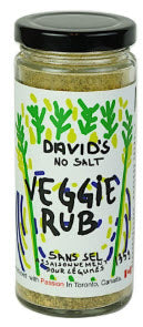 David's Veggie Rub