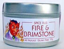 Fire and Brimstone (spice rub) - The Epicentre