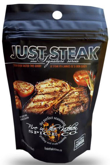 Fire In The Kitchen Spice Co. Just Steak Rub (120g)