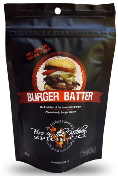 Fire In The Kitchen Spice Co. Burger Batter (120g)
