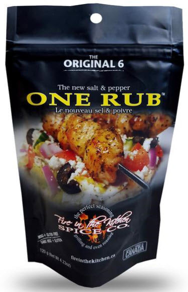 Fire In The Kitchen Spice Co. One Rub (120g)