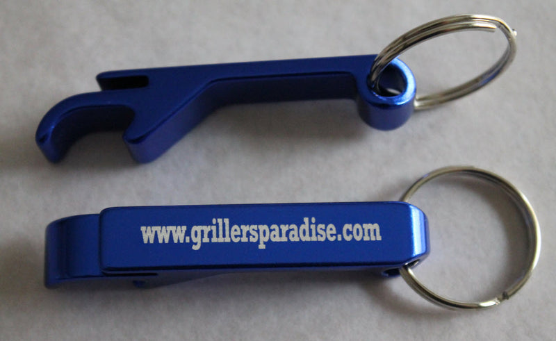 Grillers Paradise Keychain Bottle Opener