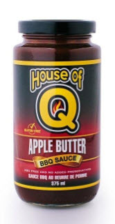 House of Q Apple Butter BBQ Sauce 275ml