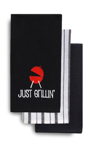 Just Grilln' Tea Towel Set