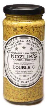 Kozliks Dijon Classique (the mustard formerly known as 'Double C' )