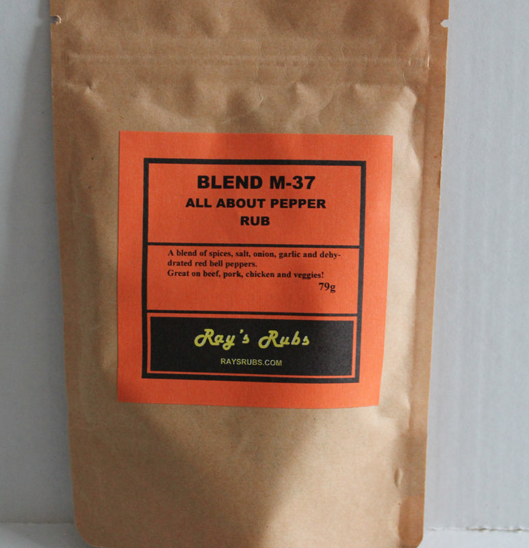 Ray's Rubs - Blend M-37 - All About Pepper Rub - 79g