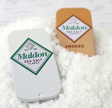 Maldon Sea Salt Flakes - Smoked - Pinch Tin