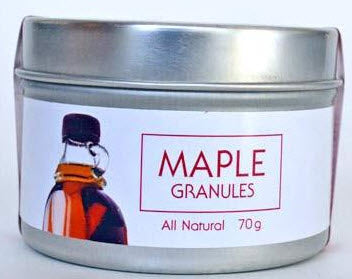 Maple Granules (70g) - The Epicentre