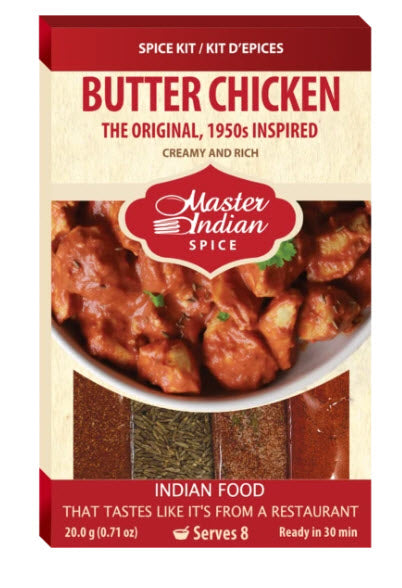 Master Indian Butter Chicken Spice Kit