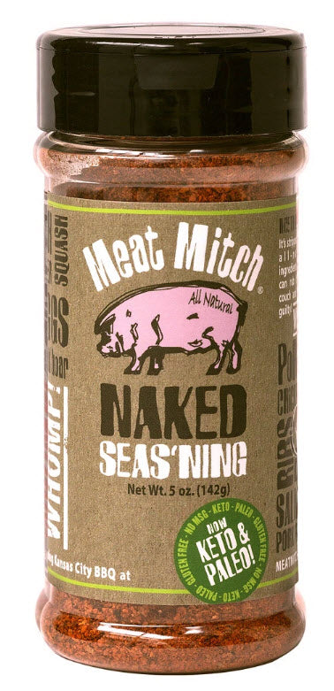 Meat Mitch - Naked Seas'ning 5oz