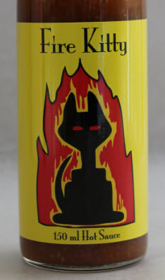 Meow That's Hot - Fire Kitty Hot Sauce (150ml)